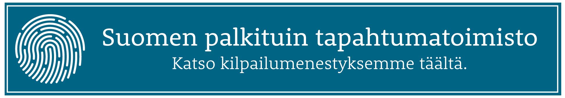 Suomen palkituin tapahtumatoimisto
